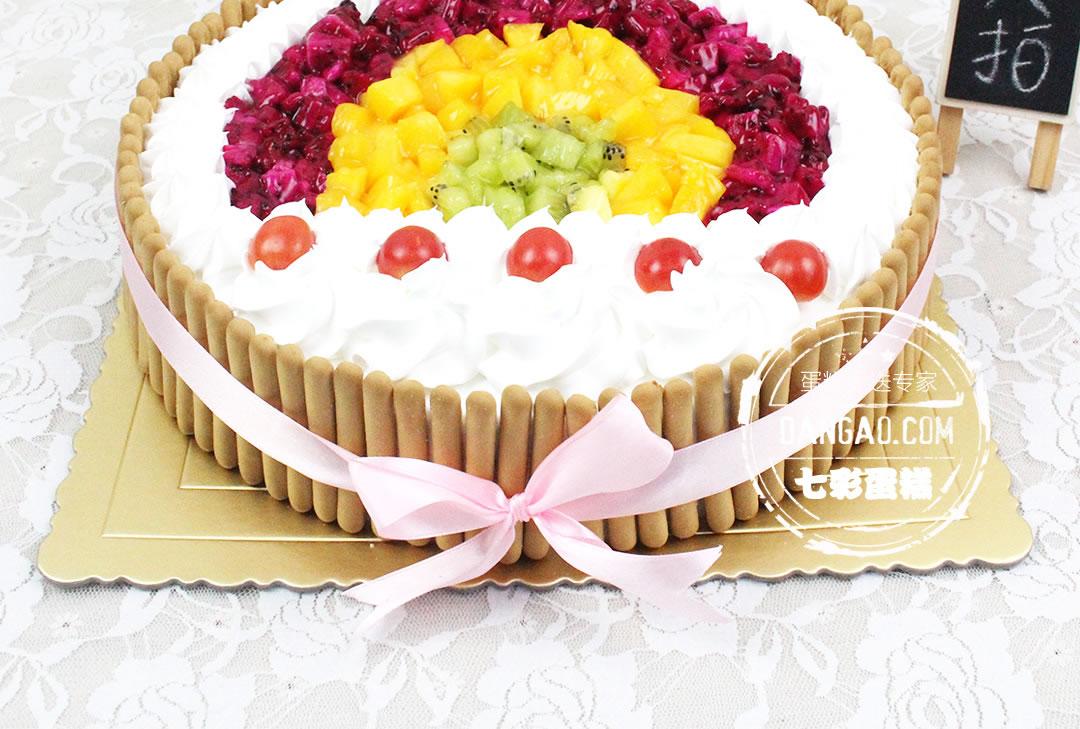 小孩子过生日用,喜欢的不得了 花儿2016-02-16 果然是小清新,蛋糕看