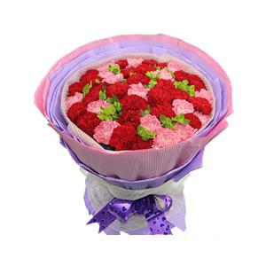 鲜花/母子情:16支粉康,26支红康 包 装:高档棉纸,瓦楞纸紫