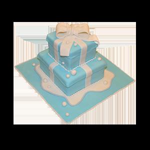 蛋糕/【翻糖蛋糕】童心未泯:鲜奶鸡蛋胚+新鲜翻糖造型 祝 愿:爱的礼盒送给你,