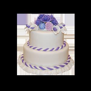 蛋糕/【翻糖蛋糕】凝眸深处:鲜奶鸡蛋胚+精致翻糖造型 祝 愿:有信仰,有担当,