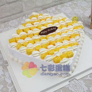 蛋糕/幸福生活:鲜奶鸡蛋胚+新鲜水果 祝 愿:感恩有你,岁月中不曾