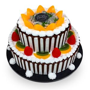 蛋糕/甜蜜温馨: 新鲜水果、优质奶油、鸡蛋牛奶蛋糕胚  [包