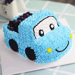 蛋糕/欢乐满载:原材料:柔软蛋糕胚,黄桃水果夹心,时令水果 蛋糕说:祝福我