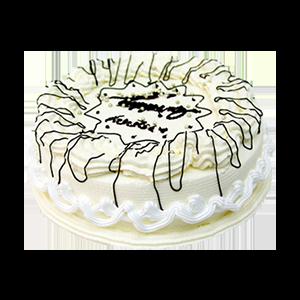 蛋糕/维多利亚的祝福:冰淇淋蛋糕 祝 愿:洁净纯白的心灵,来自内心的祝福
