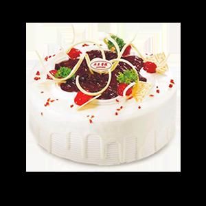 蛋糕/捕获你的心:冰淇淋蛋糕 祝 愿:牢牢抓住你的心,表达我的爱