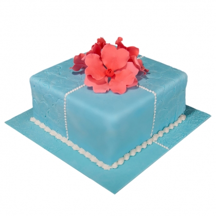 【翻糖蛋糕】爱不是偶然