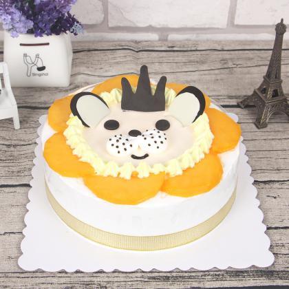 狮子座专属蛋糕
